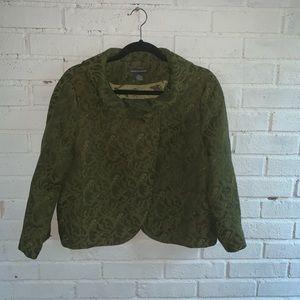Chelsea & Theodore green Jacket XL